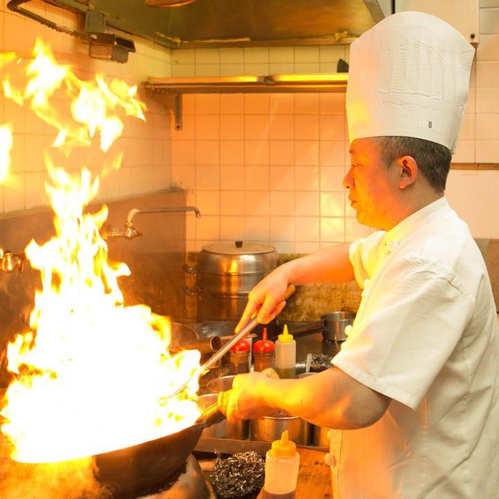 こだわり食材と卓越した技術で作る極上中華の数々
