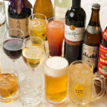 飲み放題付きコースをご用意。生ビールや中国酒など…充実の内容