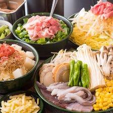 【もじやイチオシコース】各種ご宴会に!●全5品2H食べ飲み放題●4950円
