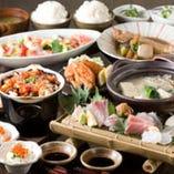 豪華食材を贅沢に堪能!6,000円コース