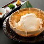 大吟醸手作りザル豆腐