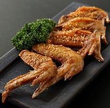 大山鶏の手羽先唐揚 甘口