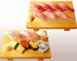 自慢の寿司は、御宿ならではの 新鮮な味わい