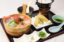 丼や定食など種類豊富なお得ランチ