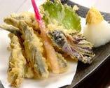 広島といえば◆小いわし 天婦羅か塩焼きで。