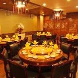 最大420名様までご利用可能な店内は広々空間!飲み会,宴会に。