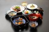 京野菜と京都牛 秋のコース料理 鴨川