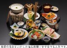 関西風の日本料理が味わえるお店