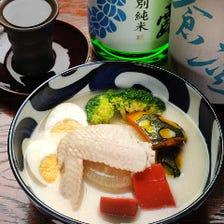 珍しい!白湯スープの純白おでん