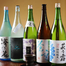 店主厳選の日本酒飲めます!