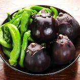 京の地野菜・旬の野菜をたっぷり使ったお料理がいっぱい!