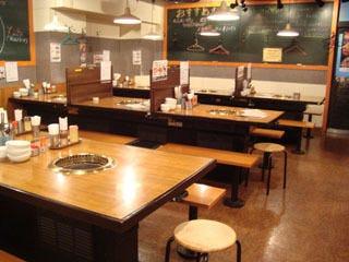 焼肉市場げんかや 高田馬場店 店内の画像