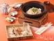 祝会席はお一人様個々の祝鯛の焼物祝鯛土鍋ご飯が基本となります