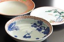 有田焼の器がお料理を奏でます。