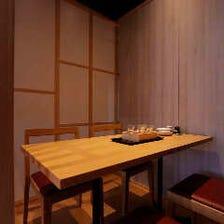 【個室】全席個室・半個室でのご宴会