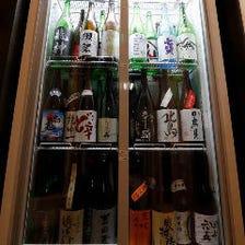 日本全国から50種以上取り揃えた『日本酒』