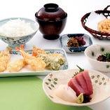 刺身と天ぷら《和御膳》