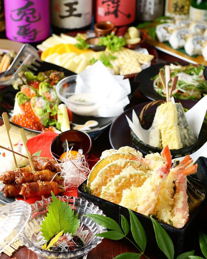 歓送迎会にオススメ!大人気料理10品5,000円(飲み放題付税込)