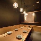 【お座敷VIP個室】 4〜8名様用/堀り炬燵の贅沢な完全個室