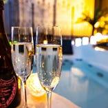 記念日・誕生日にはシャンパンで乾杯を♪