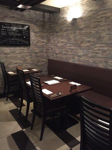 Taverna Mezzanotte  店内の画像