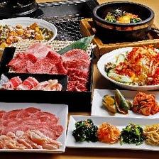 厳選お肉を存分に満喫できる食べ放題