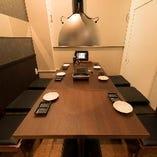 【テーブル席】4名様から6名様までご利用できます!