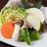 ■焼き野菜も豊富!!野菜盛り合わせ!!