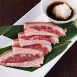 ■焼きしゃぶカルビ&シャキっと野菜~おろしポン酢~