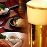 【伝統を飲む!】 究極の生ビールとビヤホール伝統のお料理!