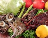 新鮮な魚介類も豊富に ご用意いたしております。
