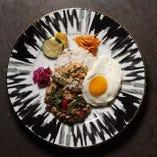 豚挽肉のガパオライス