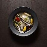 北海道産ブランド牡蠣 レモンハーブ蒸し