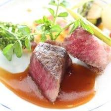 仙台牛A5ランクを存分に味わう贅沢ディナー『プルミエ・コース 〜希少な特選和牛〜』全7品