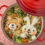【SNS映え】 見た目も可愛く味も絶品のお鍋をお楽しみください