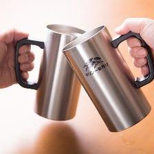 心尽くしの一杯を片手に乾杯しよう♪