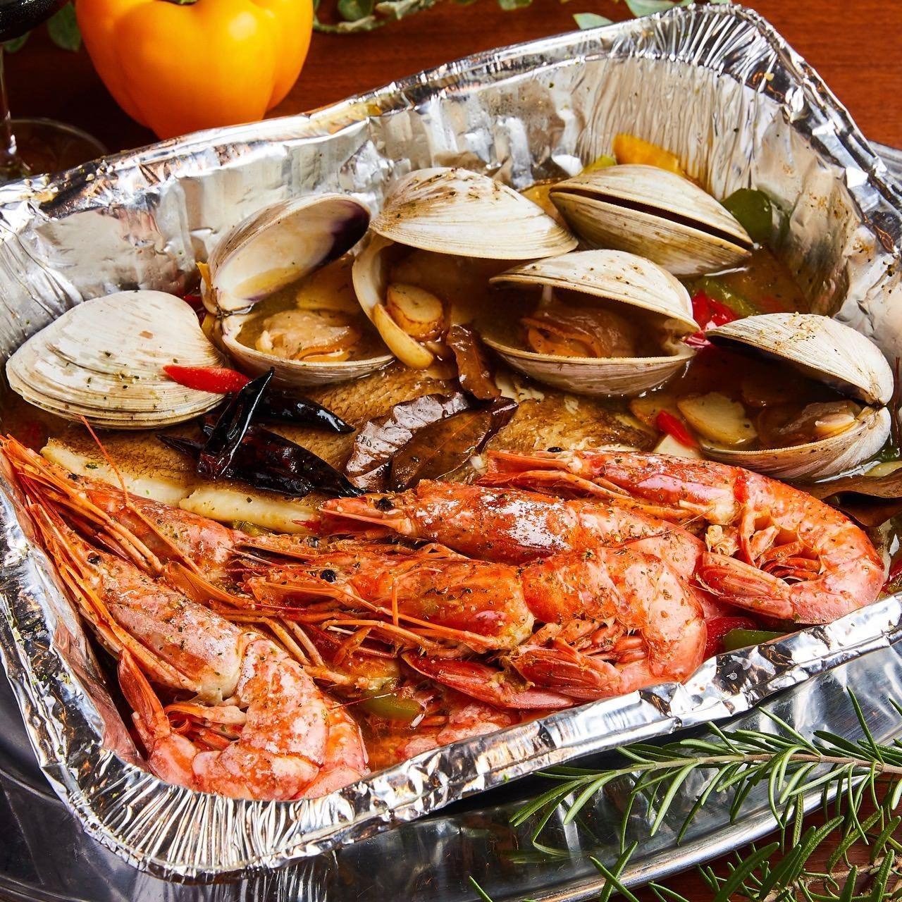 海鮮やお野菜もたっぷりと!完全貸切で楽しむ絶品BBQ料理