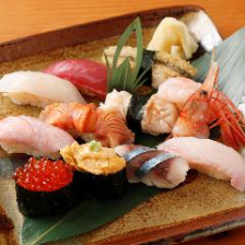寿司にこだわってます!