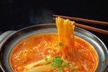 鍋〆 ラーメン