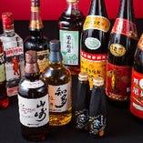 充実の飲み放題メニューは約40種!中華ならではの紹興酒も♪