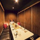 完全個室空間で華やかな地鶏宴会をお愉しみください!