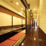扉を取っ払うことで、広々とした空間ができるので宴会にも最適です◎