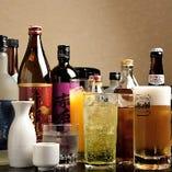 こだわりのフグ料理に合うお酒を多種多様にご用意しております◎