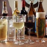 ■:ドリンク:■ 個性豊かな美酒をバラエティ豊かににご用意