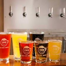 国産クラフトビールが豊富