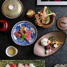 四季彩る京料理は接待や会食、観光に