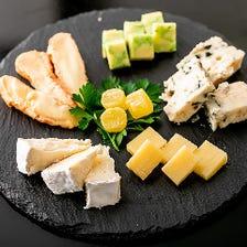 チーズ 5種盛り合わせ