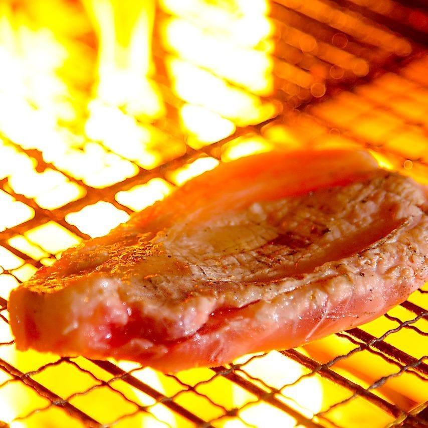 うれうれ豚の炙りステーキ