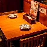 テーブル席(2名様)