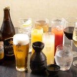 【120分制】瓶ビール、生ビール、ハイボールやワインも味わえる「飲み放題」